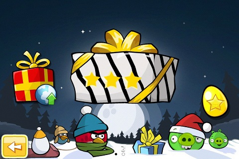 Angry Birds Seasons Noel Golden Egg 2