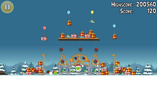 Angry Birds Seasons Noel Golden Egg 2
