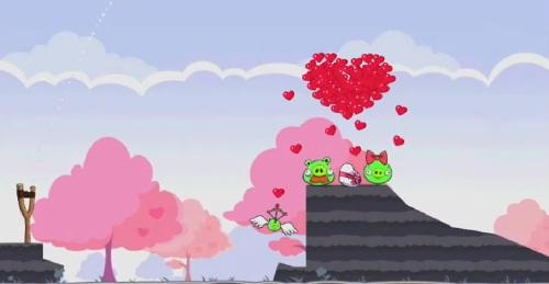 Angry Birds Seasons St Valentine Golden Egg 2