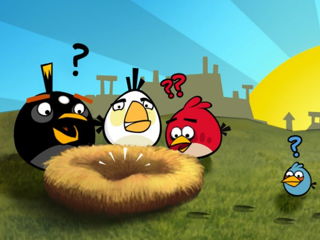 Angry Birds sur Windows Phone 7 le 6 avril