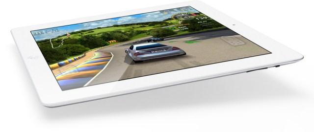 Un écran 3D sur un iPad
