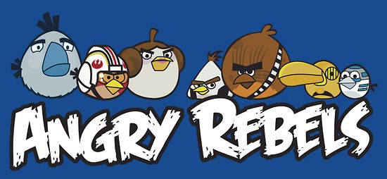 Angry Rebels : Quand Angry Birds rencontre Star Wars