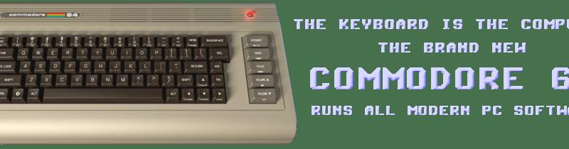 Le retour de la Commodore 64