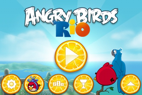 Angry Birds Rio: le nouvel épisode Beach Volley est disponible