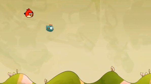 Angry Birds vs. Tiny Wings