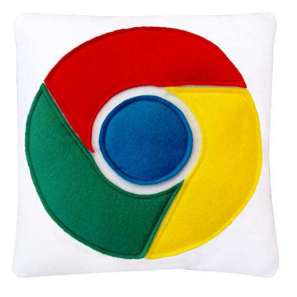 Des coussins Google, idéals pour surfer