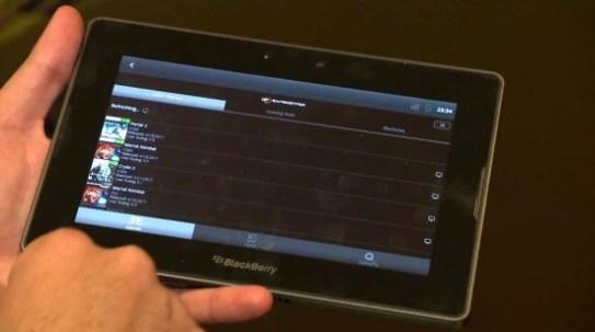 La BlackBerry PlayBook de RIM sait faire tourner des applications Android