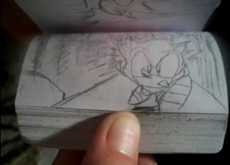 Sonic le hérisson version Flipbook