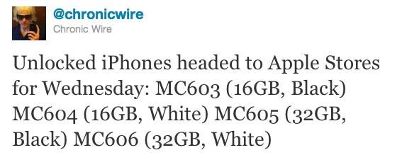 Chronic annonce l'arrivée d'iPhones 4 déjà débloqués