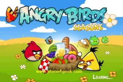Angry Birds Seasons Summer Pignic Ecran d'accueil