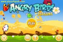 Angry Birds Seasons Summer Pignic Ecran de jeu
