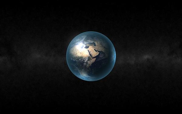 La Terre vue par les yeux d'un astronaute