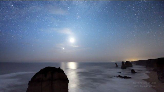 Une Time-Lapse spectaculaire : Ocean Sky