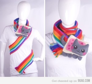 Echarpe Nyan Cat