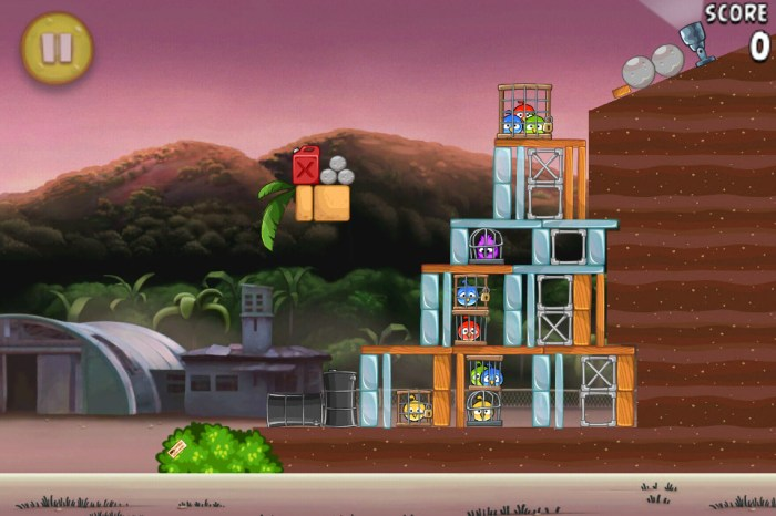 Angry Birds RIO Airfield Chase est disponible