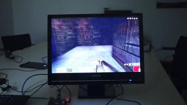 Le Raspberry Pi fait tourner Quake 3