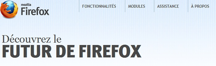 Firefox 8 est déjà  disponible en version beta
