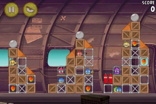 Angry Birds RIO Smuggler's Plane est disponible