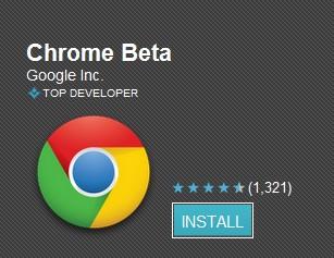 Google Chrome bientôt sur Android