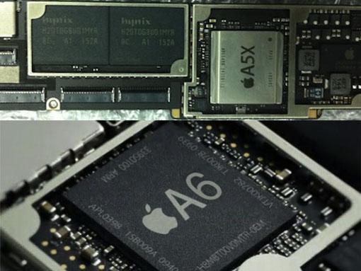 Puce A5X ou A6 pour l'iPad 3 ?