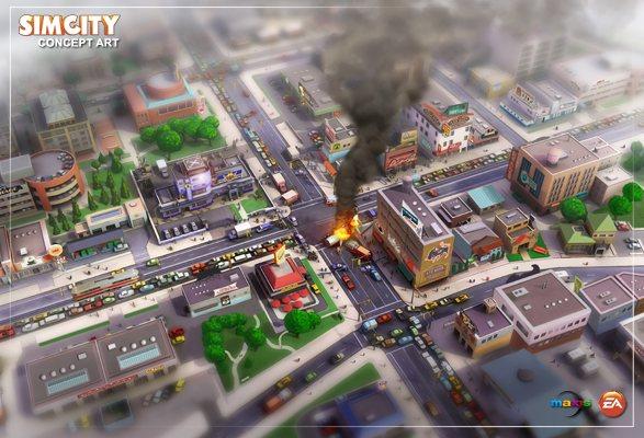 Sim City sera de retour en 2013
