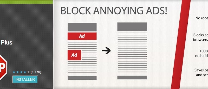 Adblock Plus est disponible sur Android