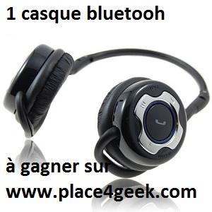 Concours : Gagnez un casque bluetooth stéréo SoundWear SD10