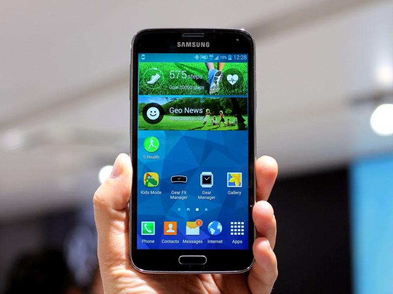 """Pas d'effet """"waoooh"""" pour le Galaxy S5"""