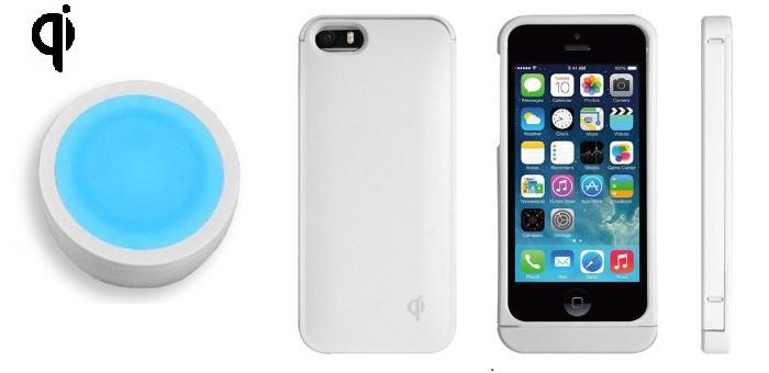 Test d'une coque et d'un support QI pour une recharge sans fil pour iPhone 5 / 5S + Concours