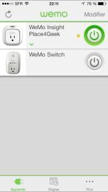 Test de la prise connectée Wemo Insight + Concours