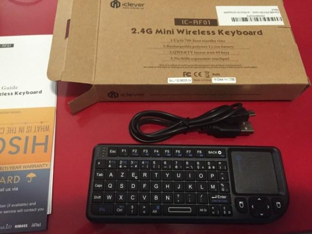 Test du clavier sans fil iClever