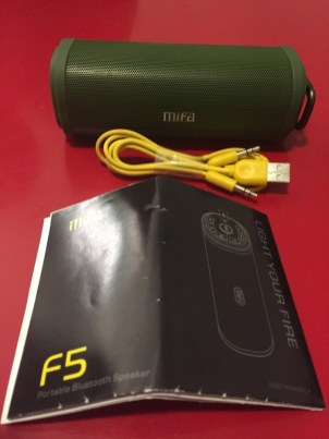 Test de l'enceinte bluetooth MIFA F5