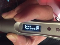 Test du Stylo 3D ''FX2'' avec écran de contrôle