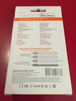Concours : gagne un kit Novodio Power Card de 2500 mAh avec son Charging Pad !