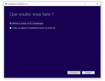 Comment récupérer l'ISO de Windows 10 ou faire une clé d'installation ?