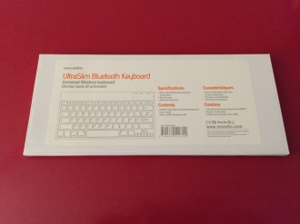 Test du Novodio Ultra Slim Bluetooth Keyboard & Concours