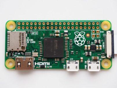 Le Raspberry Pi 0 est disponible !