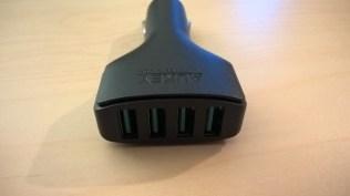 Test du chargeur allume cigare 4 ports USB d'Aukey