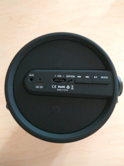 Test de l'enceinte Bluetooth portable Aukey SK-M18