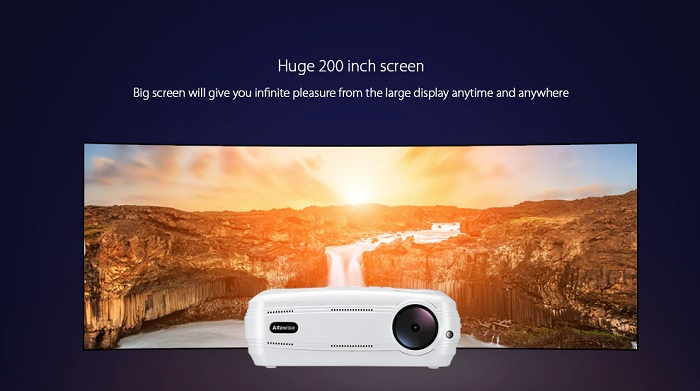 Test du vidéo projecteur Alfawise X