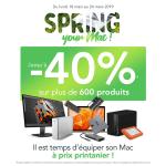 Macway lance l'opération #SpringYourMac venez tenter de gagner un lot High-Tech !