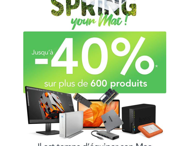 Concours : Macway lance l'opération #SpringYourMac venez tenter de gagner un lot High-Tech !