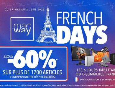 Concours : Les French Days arrivent chez Macway : 2 batteries à gagner !