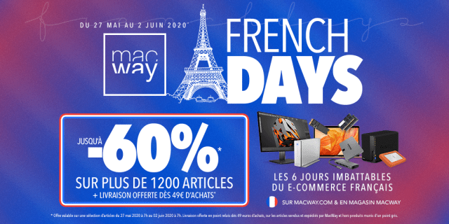 Concours : Les French Days arrivent chez Macway !