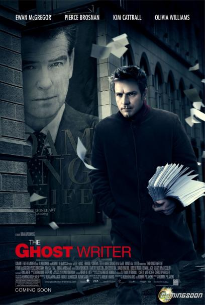 The ghostwriter (film poster, 2010)