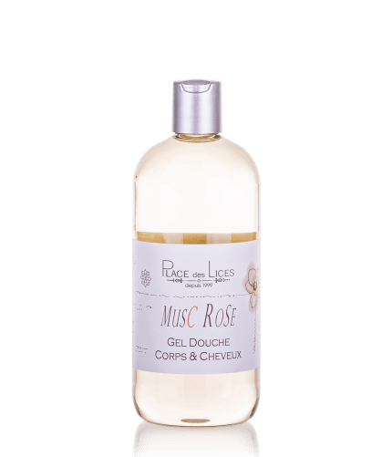 Musc Rose gel doccia 500 ml Place des Lices