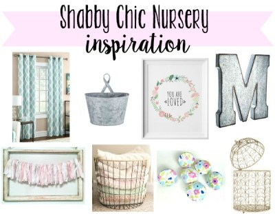 Shabby Chic Girl's Nursery Inspiration