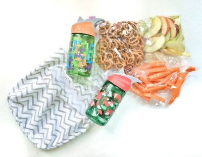On-the-go Bags for Kids (using Target sheet bags!)