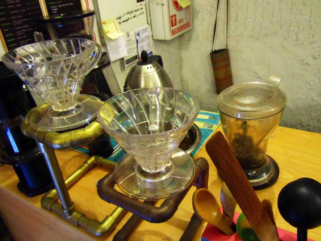 métodos alternativos para la extracción de café