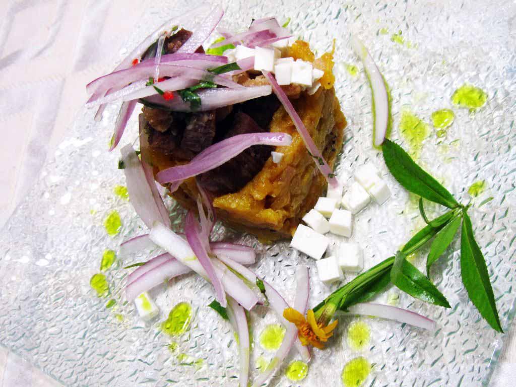 comida peruana ceviche